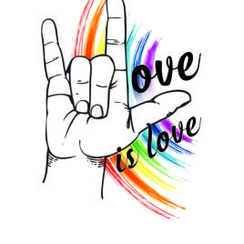 Love Is Love Sticker – 2018 Limited Edition Release